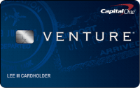 Capital One Venture credit card.