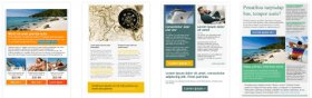 Email Newsletter Templates for Travel Marketing