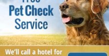 Free HotelGuides Pet Check Service - call us at 1-800-916-1392, and we'll call hotel to check its current pet policy