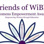Friends of WiBN logo with words in flower