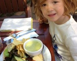 Gibbston Valley offers yummy platters that little ones will love
