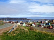 On the road to Trinity, Newfoundland