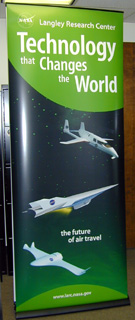 Poster of Aeronautics Exhibit