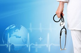 stethoscope medicine medical doctor globe world