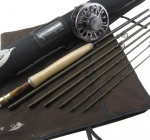 Travel 5 PC Fly Rods