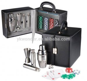 Travel Bar Set with Case