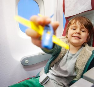Travel Tips annoying kids on plane