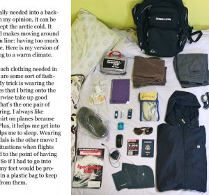 Travel Tips Packing