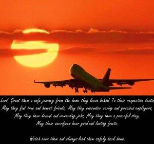 Travelling Grace Prayer