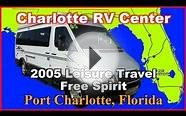 2005 Leisure Travel Van 210B Used Class B Motorhome