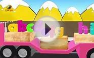 ABC Alphabets Truck Song for Kids | Animated ABCD Rhymes
