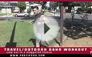 Fitness Tips: Travel/Outdoor Band Workout with Michael George