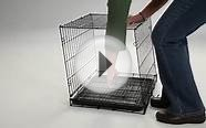 Folding Dog Crate Portable Kennel Den Playpen Pet Cage Cat