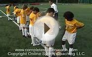 Fun soccer game for kids