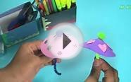 How To Make Foamy Umbrella - Fun Craft Ideas For Kids