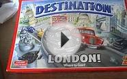 MY AMAZING DESTINATION LONDON BOARD GAME FUN for all the