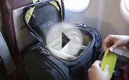 Night Flight Travel Duffle (a personal carry on bag by TOM