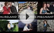 our trip to NORTHERN IRELAND | OVER 7 months pregnant!