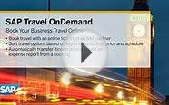 SAP Travel OnDemand - book your business travel online demo