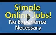 Simple Online Jobs - No Experience Necessary | Simple