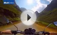 Travel 3, miles in four minutes! Tourist films epic