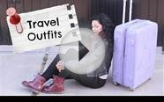 TRAVEL OUTFITS WHAT TO WEAR FOR LONG FLIGHTS!