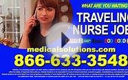 Traveling Nurse Jobs Infomercial